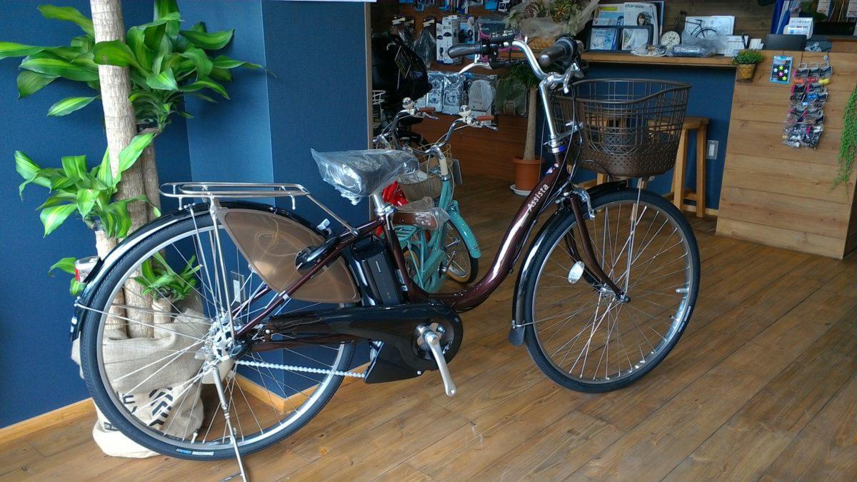 ブリヂストンサイクルの定番の電動自転車入荷しました。