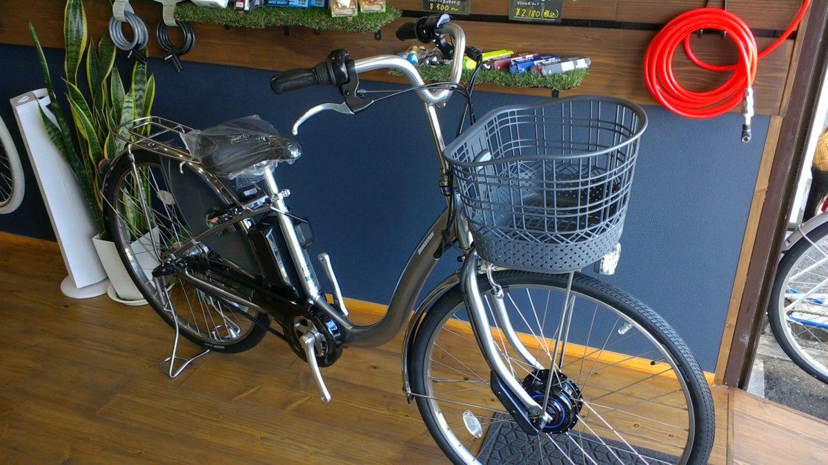 ブリヂストン電動自転車「フロンティア」