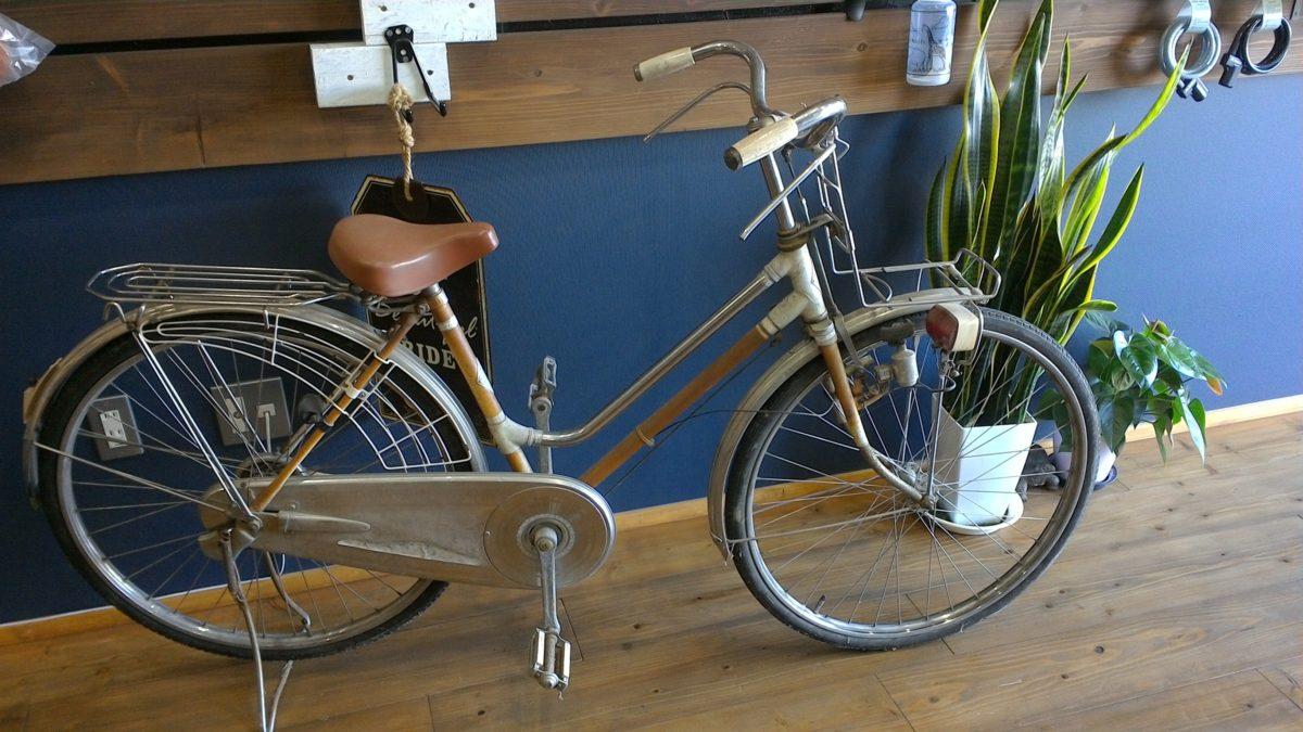 40年以上前の自転車をリメイクしました。