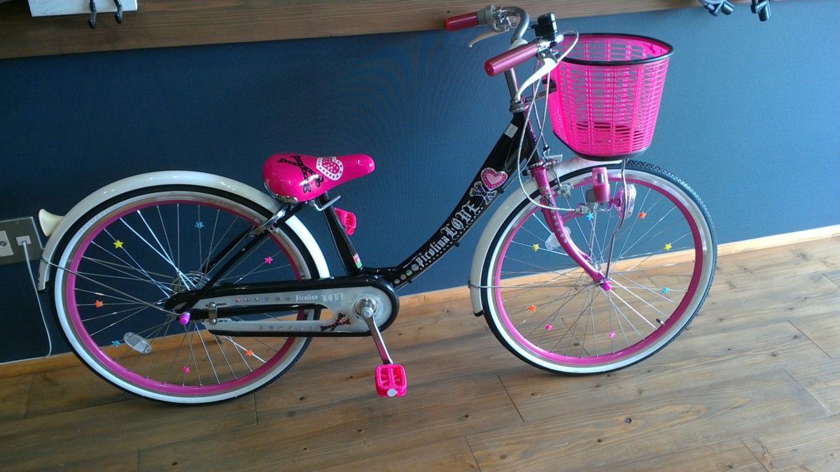 女の子に人気のかわいい自転車
