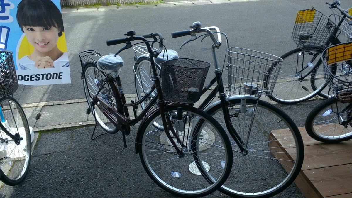 春にむけて自転車増えてます(^^)/