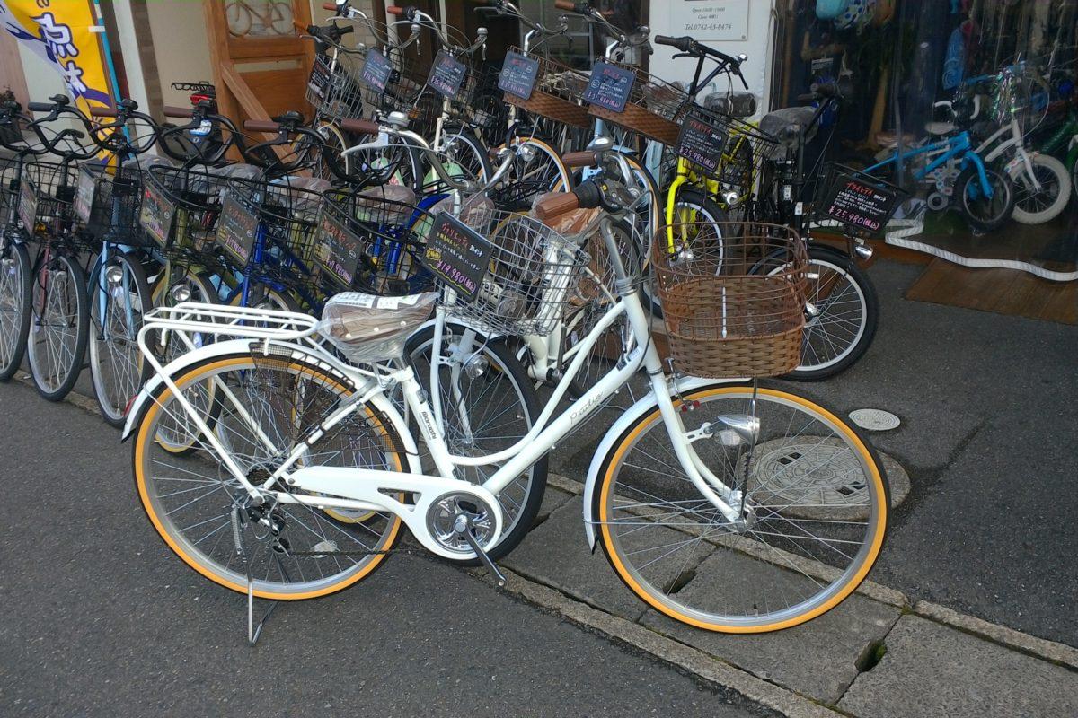 通学車にも最適!オシャレな自転車入荷しました⤴